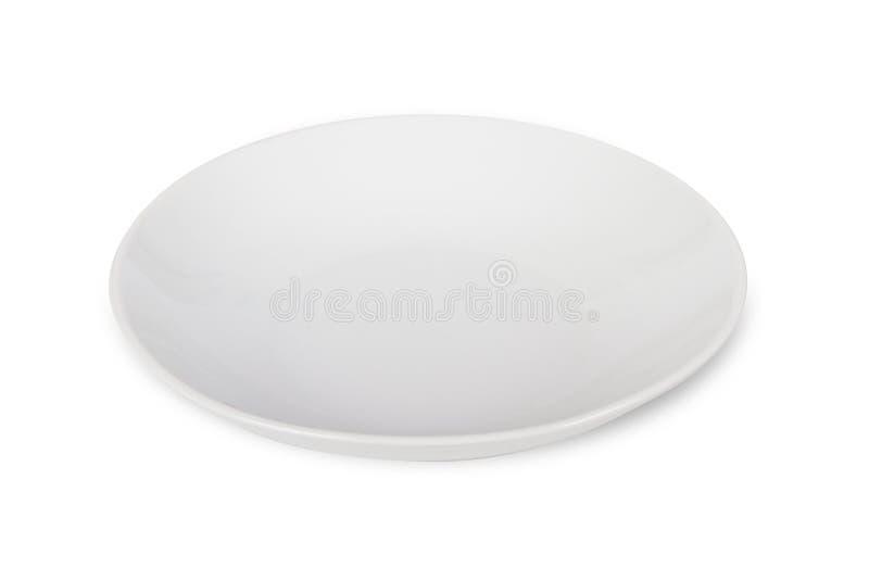 Weiße Platte stockfotos
