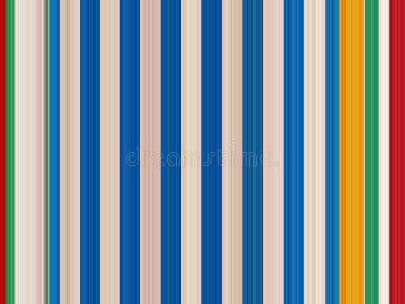 Weiße, rote und blaue vertikale Linien lizenzfreie stockfotografie