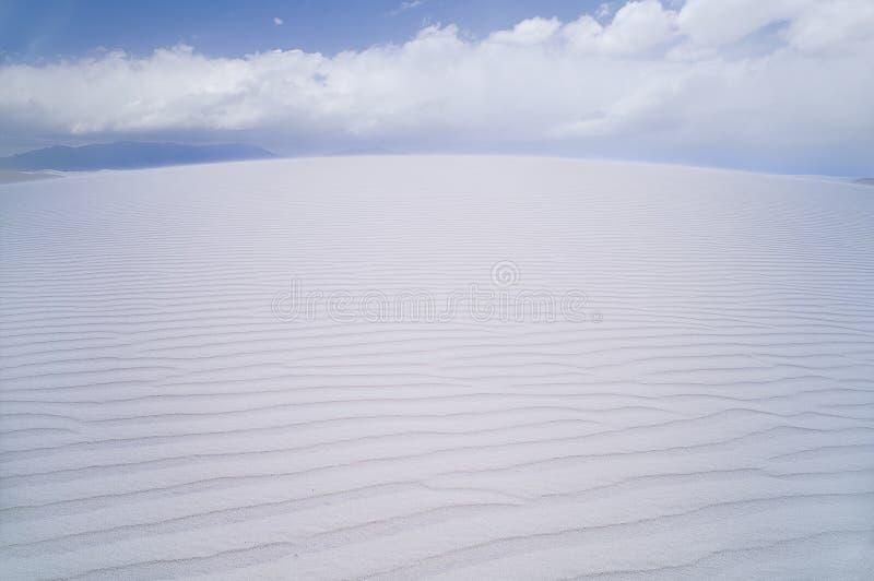 Weiße Sande stockfoto