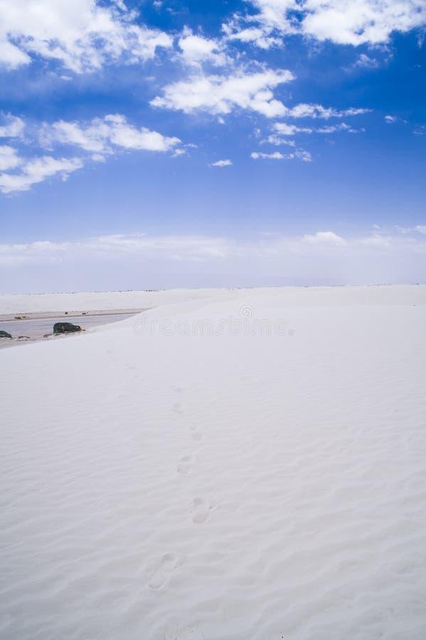 Weiße Sande stockfotografie