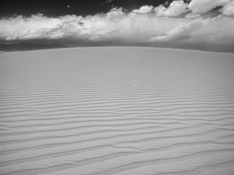 Weiße Sande lizenzfreie stockfotografie