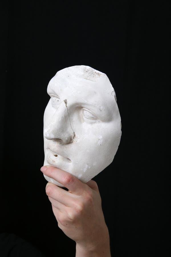 Weiße Schablone stockfoto