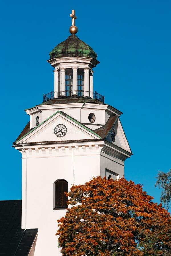 Weiße Steinkirche lizenzfreies stockfoto