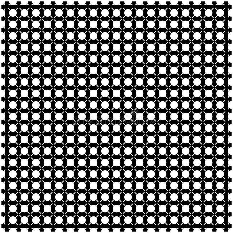 Weiße Sterne auf schwarzem Hintergrund lizenzfreie abbildung