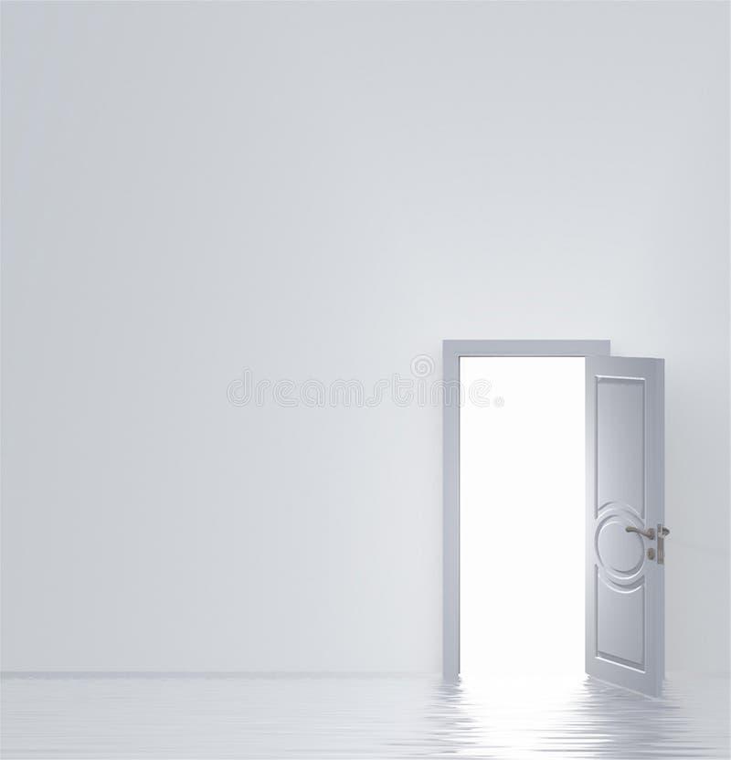 Weiße Tür vektor abbildung
