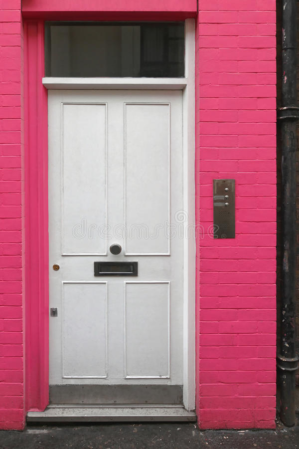 Weiße Tür stockfotos