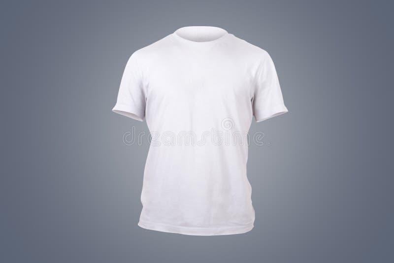 Weiße T-Shirt Schablone stockfoto. Bild von schablone - 40036244