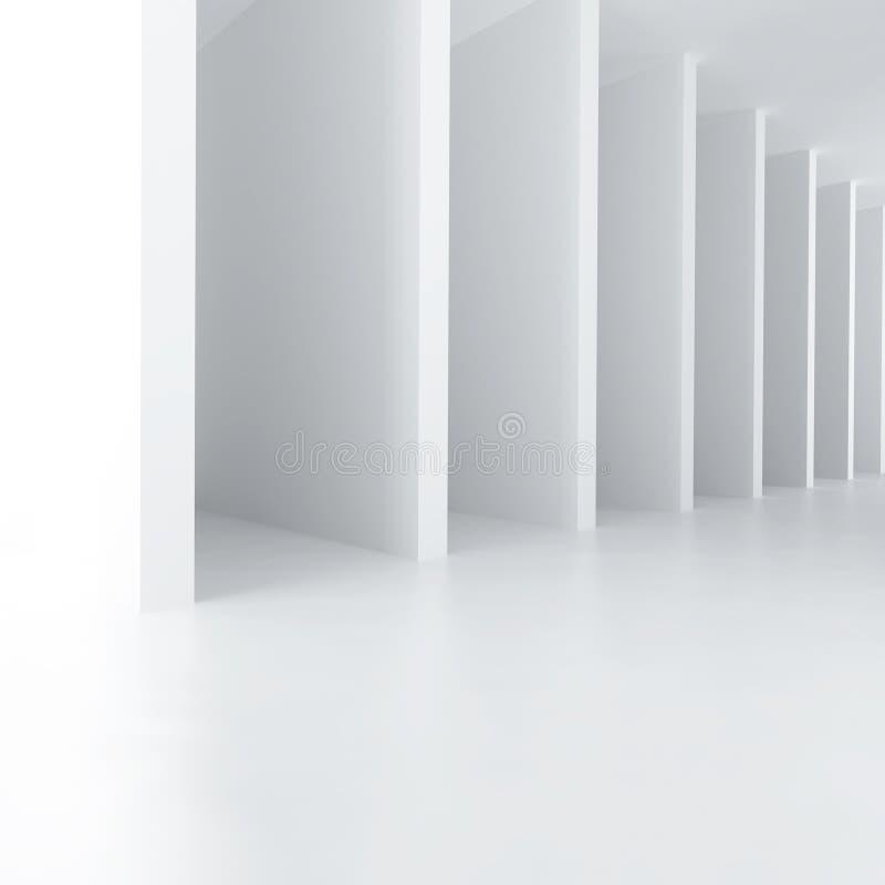 Weiße Wände lizenzfreie abbildung