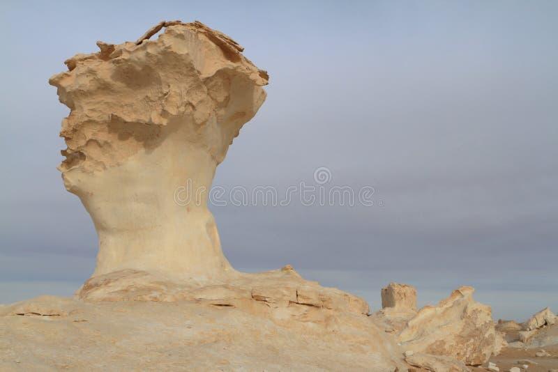 Weiße Wüste bei Farafra im Sahara von Ägypten stockfotos