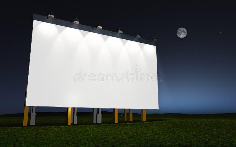 Weiße Wand stock abbildung