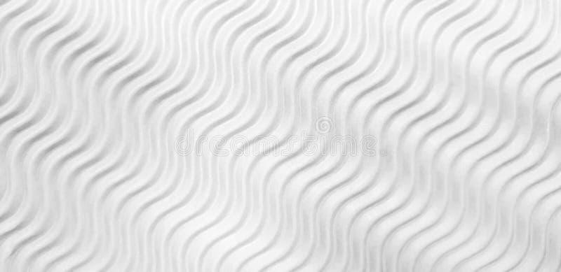 Weiße Welle Wellpappe vektor abbildung