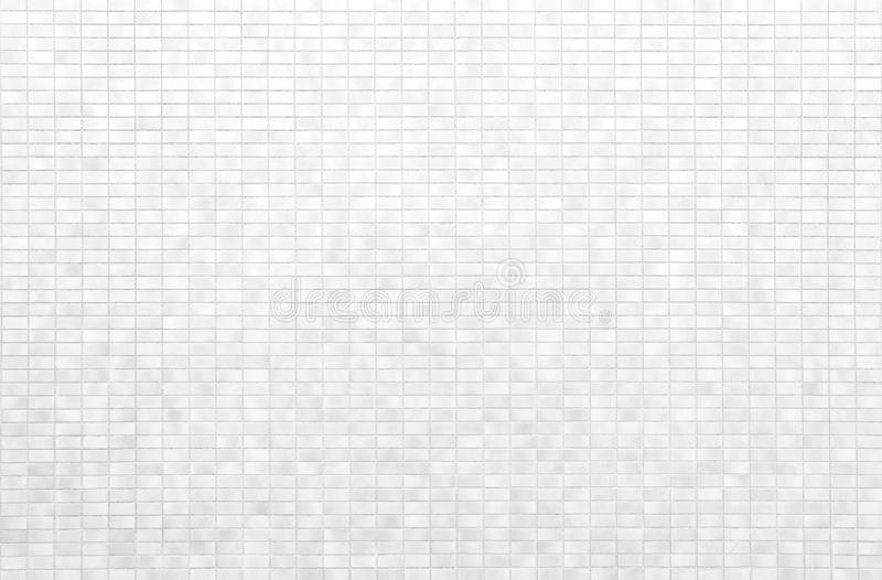 Weiße Ziegelsteinfliesenwand oder weißer Fliesenboden lizenzfreie stockfotos