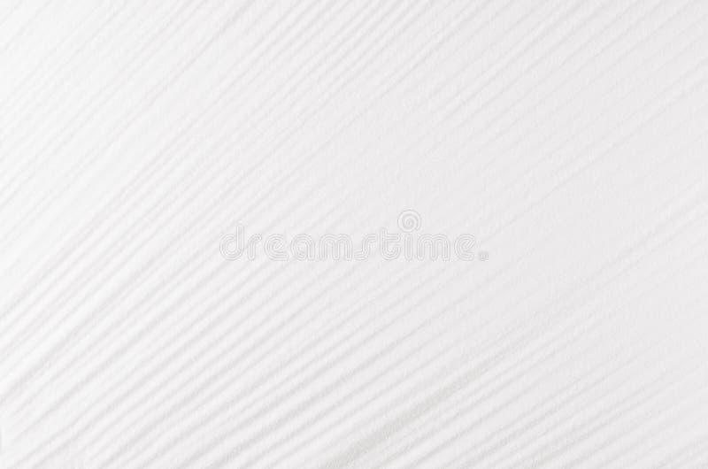 Weiße Zusammenfassung plätscherte glatten Hintergrund mit diagonalen Linien lizenzfreies stockbild
