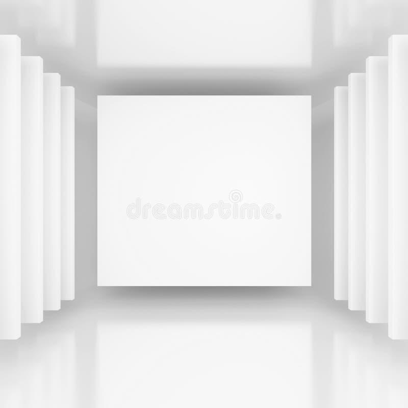 Weißer abstrakter Hintergrund vektor abbildung