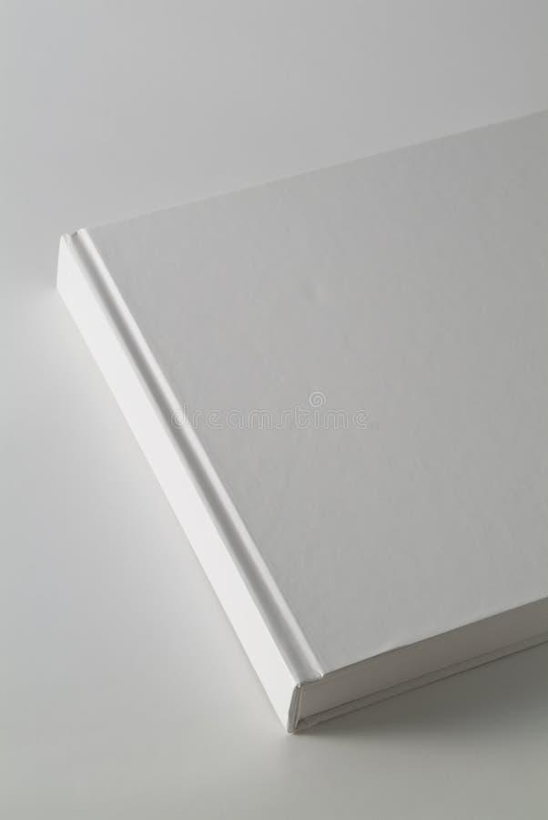 Weißer Bucheinband lizenzfreies stockbild