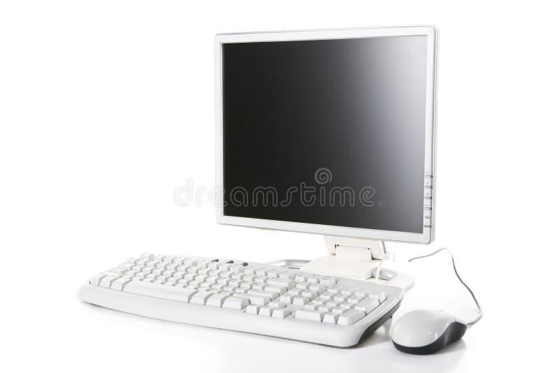 Weißer Computer stockbilder