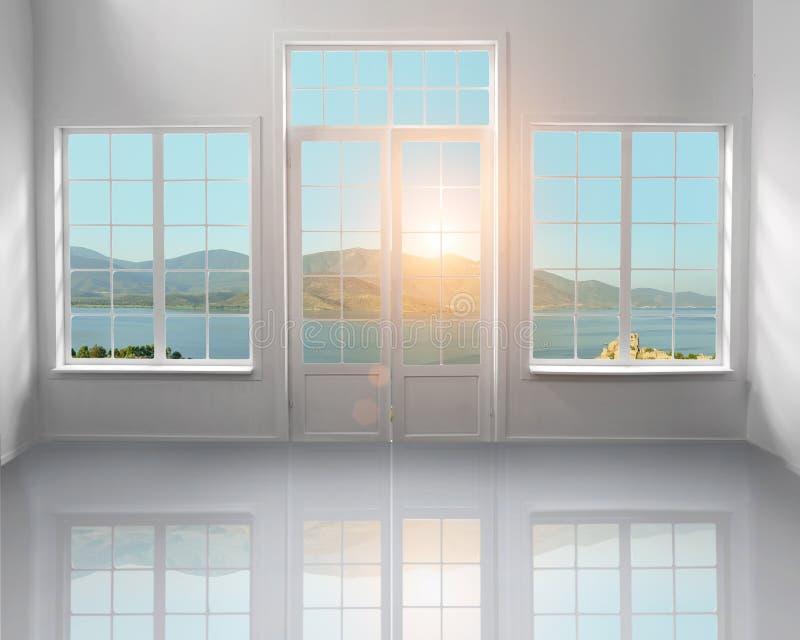 Weißer Dachboden lizenzfreie stockbilder