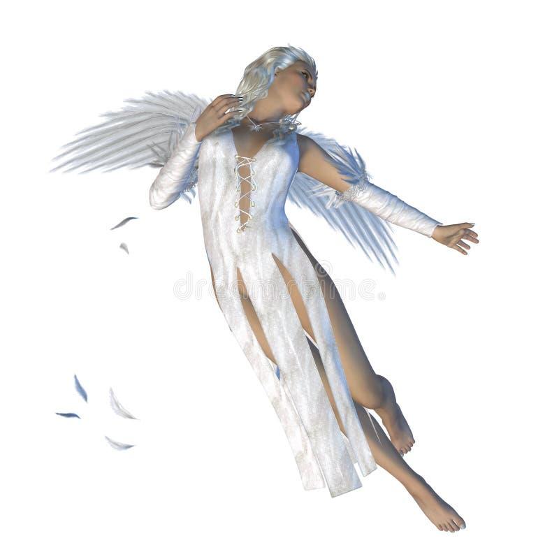 Weißer Engel stock abbildung