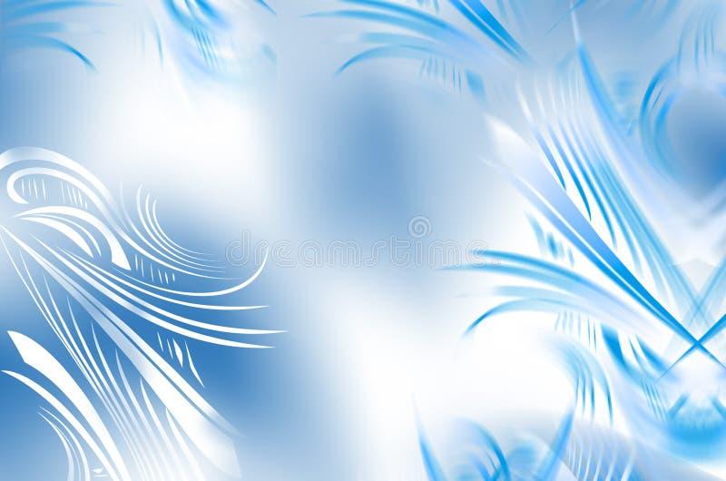 Weißer Frost auf dem Fenster vektor abbildung