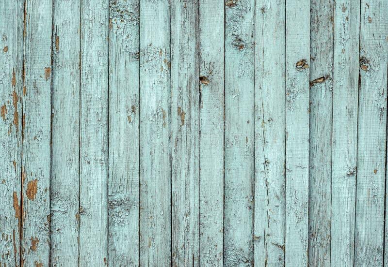 Weißer gemalter Plankenzaun mit gebrochenem und Kratzer Horizontale Schmutzbeschaffenheit lizenzfreies stockbild
