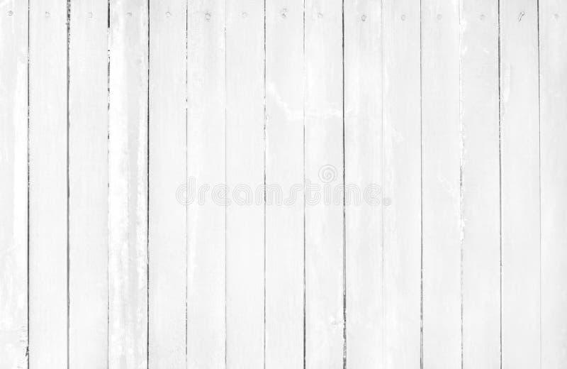 Weißer grauer hölzerner Wandhintergrund, Beschaffenheit des Barkenholzes mit altem natürlichem Muster und hohe Auflösung für Entw stockbild