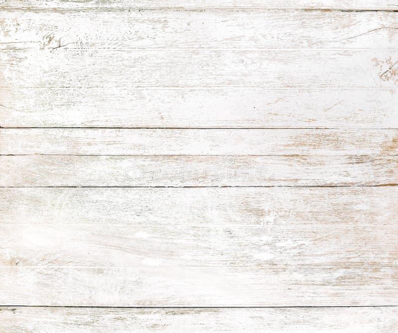 Weißer hölzerner Hintergrund der Weinlese stockbild