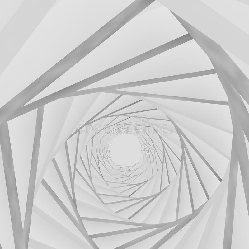 Weißer Hintergrund des Hintergrundes 3d stock abbildung