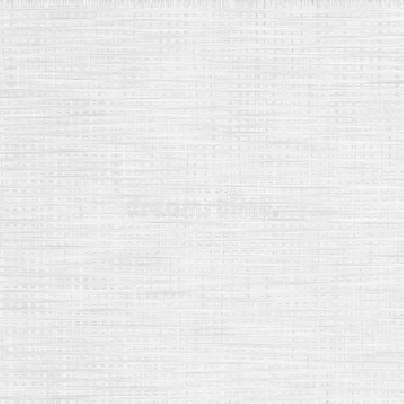 Weißer Hintergrund-, Papier- oder Segeltuchbeschaffenheitshintergrund vektor abbildung