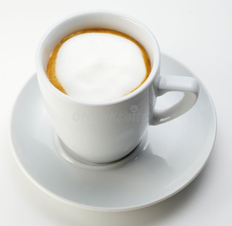 Weißer Kaffee lizenzfreies stockbild