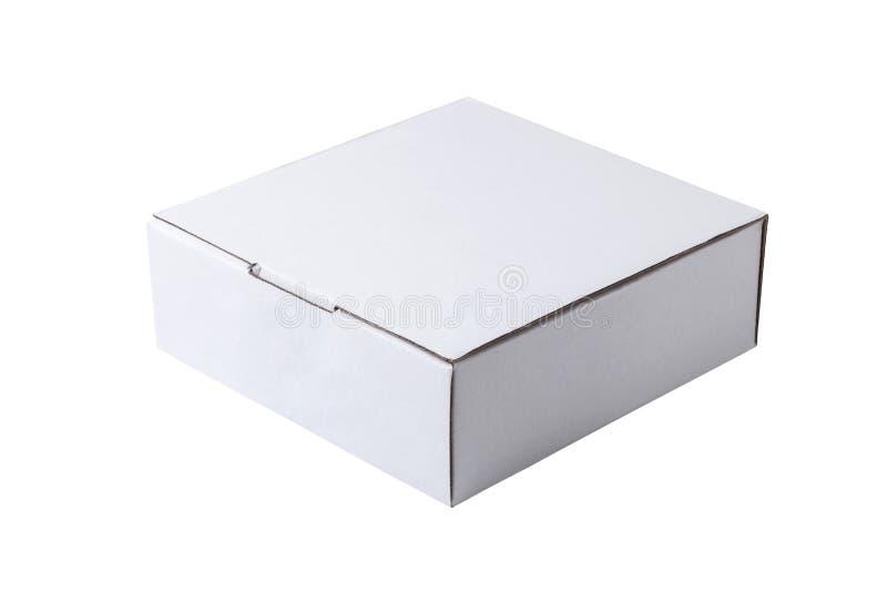 weißer Kasten stockbild