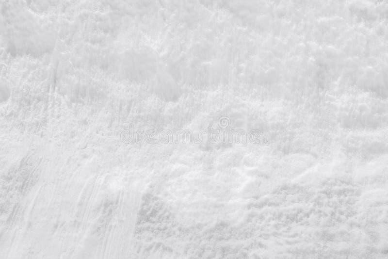 Weißer neuer Schneehintergrund lizenzfreies stockfoto