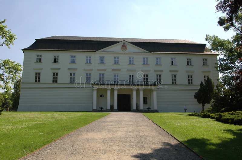 Weißer Palast stockfoto