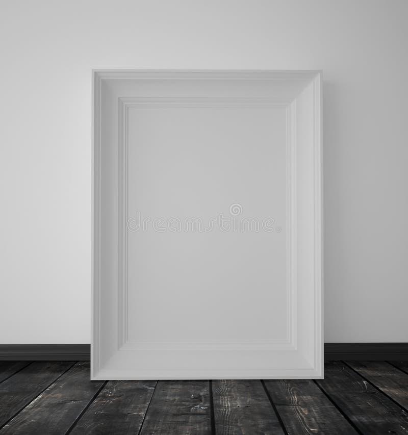 weißer Rahmen stockfoto
