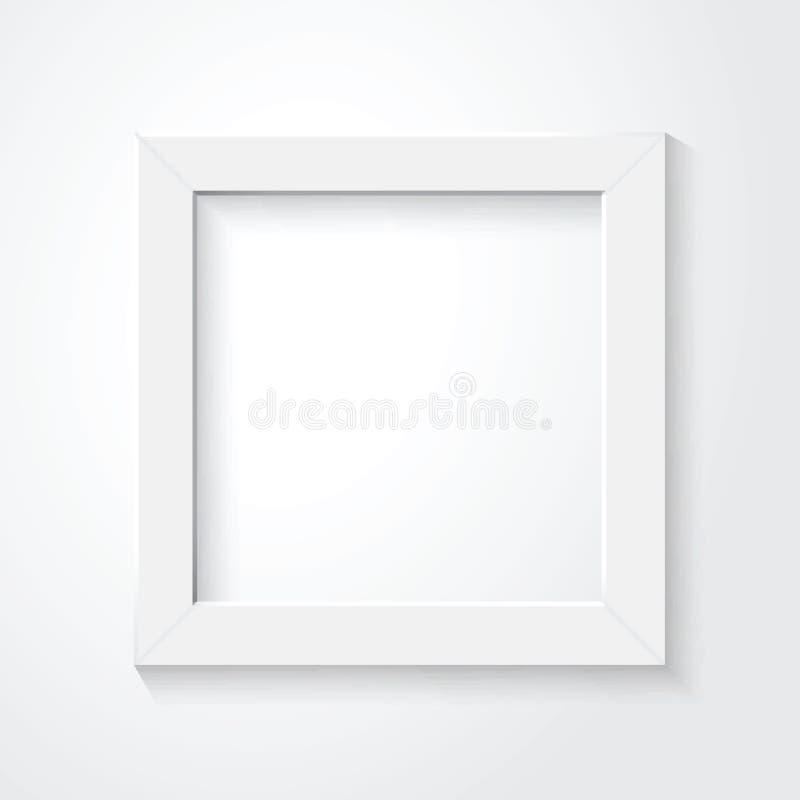 weißer Rahmen stock abbildung
