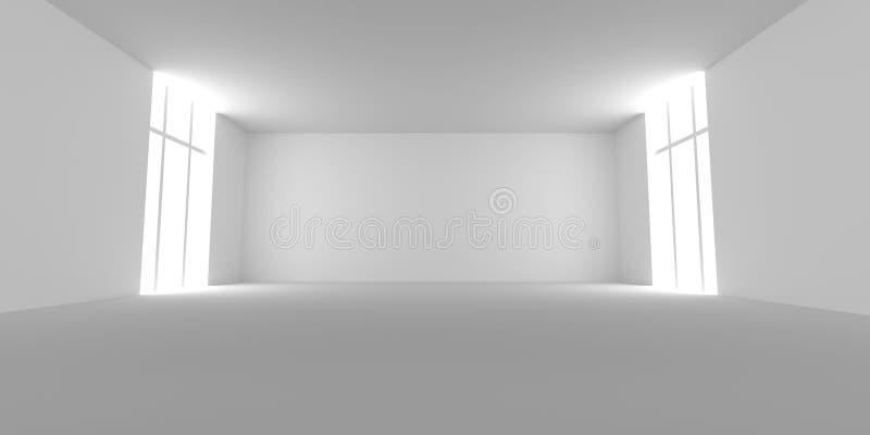 wei er raum stock abbildung illustration von villa innen 12213706. Black Bedroom Furniture Sets. Home Design Ideas