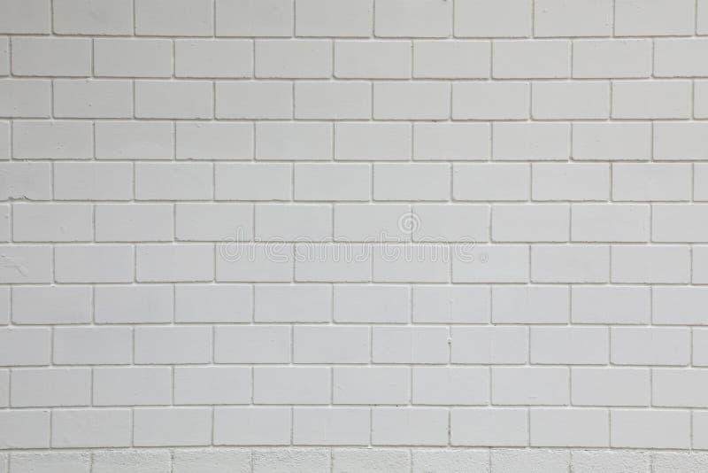 Weißer rechteckiger Wandstein lizenzfreie stockfotografie