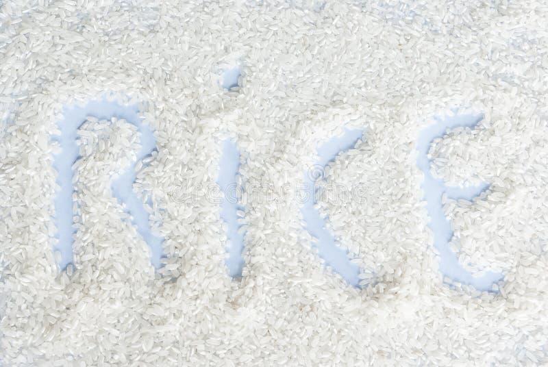 Weißer Reis stockbild