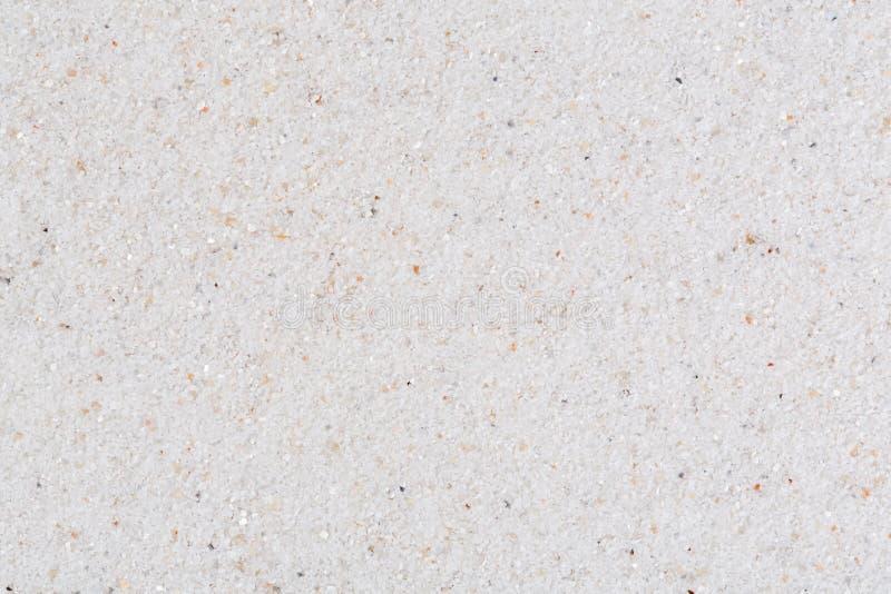 Weißer Sand Makrofoto im Foto der hohen Auflösung stockfoto