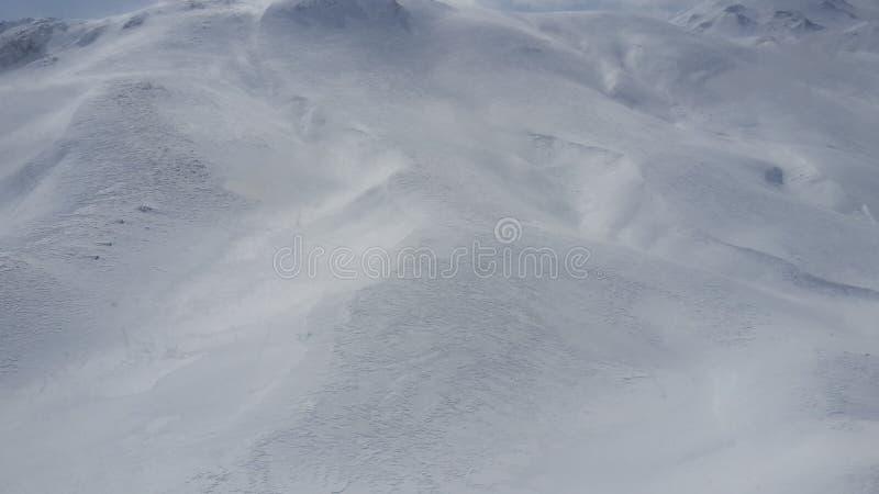 Weißer Schnee stockfotos