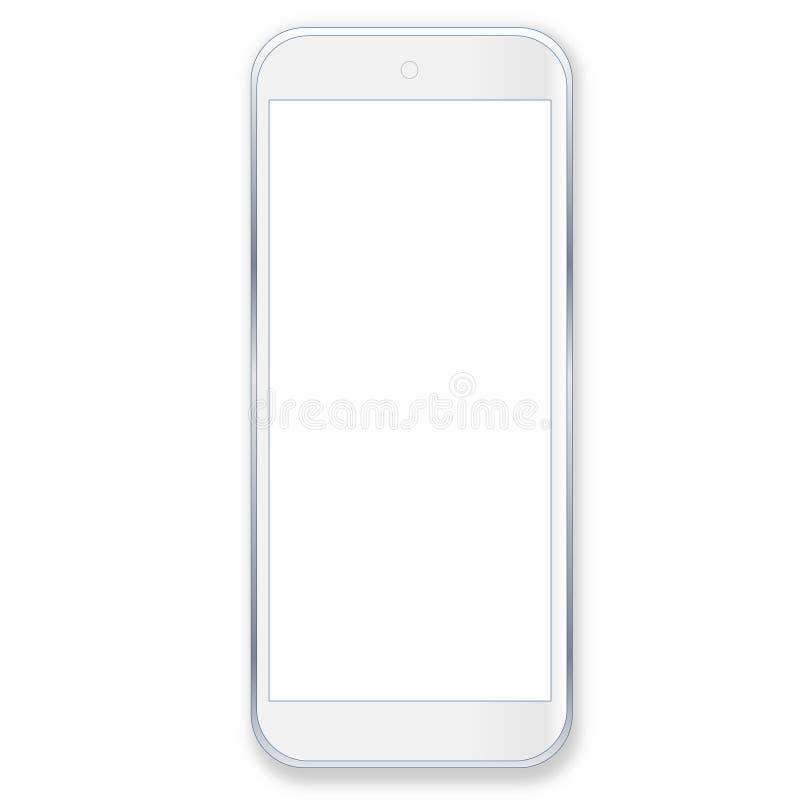 Weißer Smartphone vektor abbildung