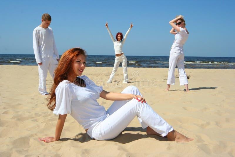 Weißer Sommer stockbilder