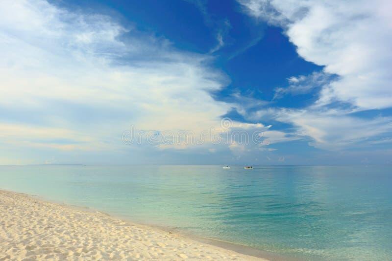 Weißer Strand Philippinen stockfoto