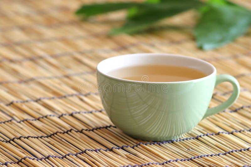 Weißer Tee für Ihre Gesundheit lizenzfreies stockfoto