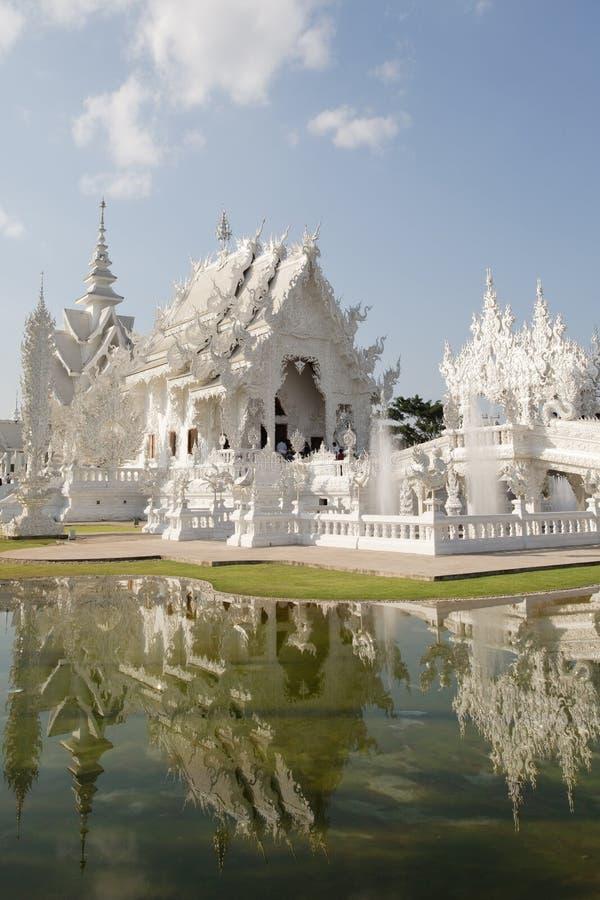 Weißer Tempel lizenzfreies stockfoto