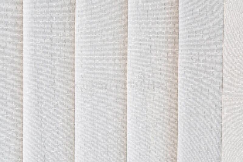 Weißer Trennvorhang lizenzfreie stockfotos