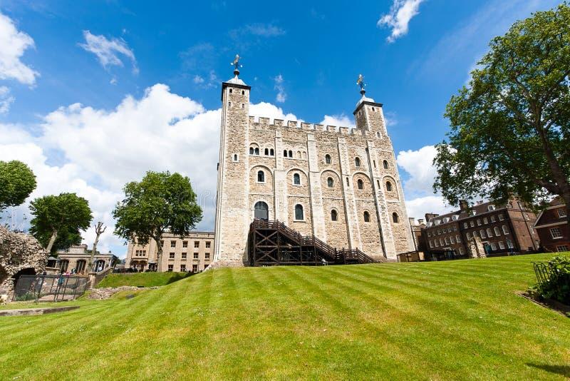 Weißer Turm, London lizenzfreies stockfoto