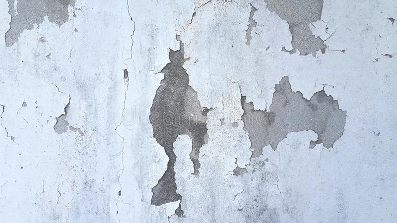 Weißer und grauer Zementwand-Beschaffenheitshintergrund des Schmutzes stockfotos