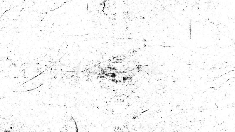 Weißer verkratzter Schmutzhintergrund, alter Filmeffekt für Text stockfotos