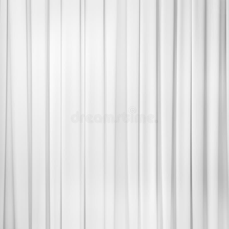 Weißer Vorhanghintergrund lizenzfreies stockfoto