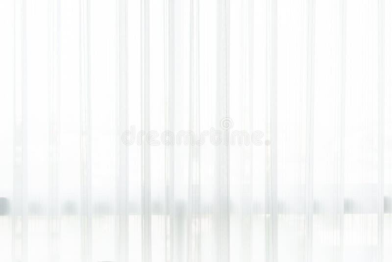 Weißer Vorhanghintergrund stockfoto